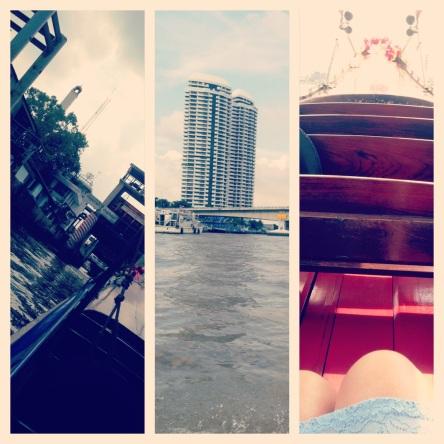 canal cruise in Bangkok