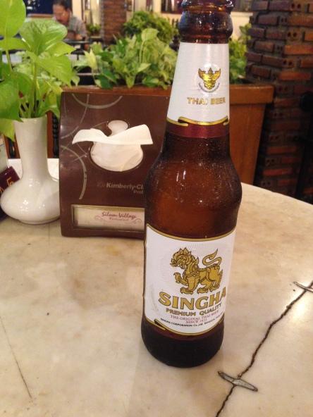 Bangkok's local beer