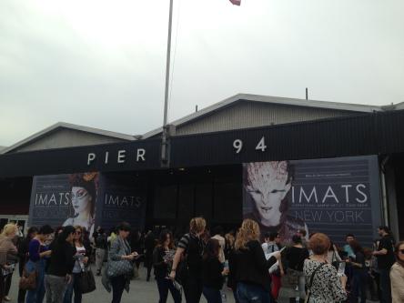 IMATS NY at Pier 94 - entrance