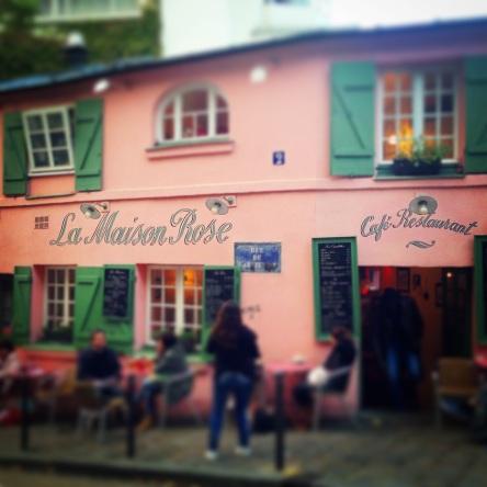 the famous Pink café