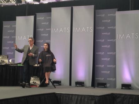one talented makeup artist on stage - Kevin James Bennet