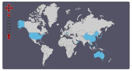 countries ive visited